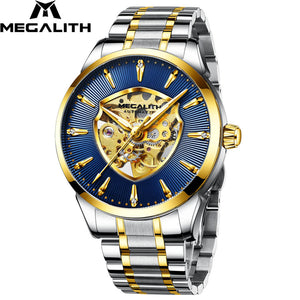 8210M | Mechanical Men Watch | Stainless Steel Band-megalith watch