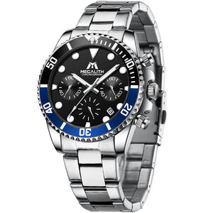 8601M | Quartz Men Watch | Stainless Steel Band-megalith watch