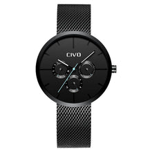 8038C | Quartz Men Watch | Mesh Band