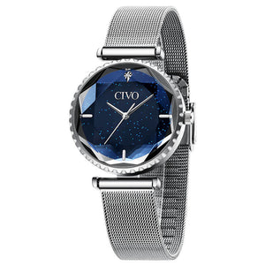 8116C | Quartz Women Watch | Mesh Band-megalith watch