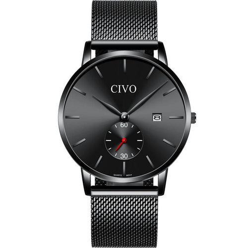 8035C | Quartz Men Watch | Mesh Band