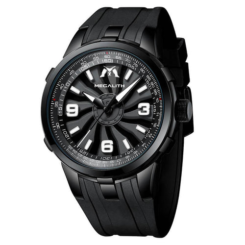 8201M | Quartz Men Watch | Rubber Band