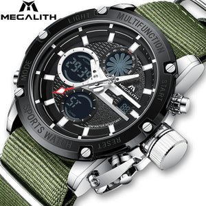 8236M | Quartz Men Watch | Nylon Band-megalith watch
