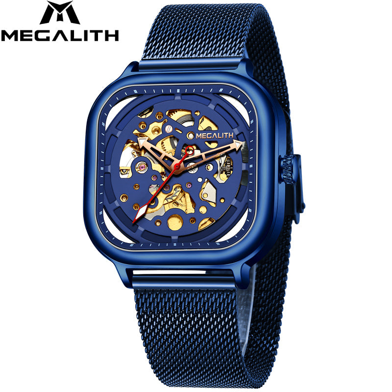 8202M | Mechanical Men Watch | Mesh Band