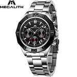 Load image into Gallery viewer, 8206M | Quartz Men Watch | Stainless Steel Band-megalith watch