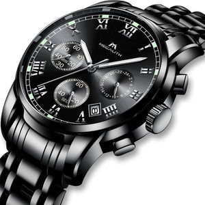 0060M | Quartz Men Watch | Stainless Steel Band-megalith watch