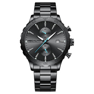 8237M | Quartz Men Watch | Stainless Steel Band-megalith watch