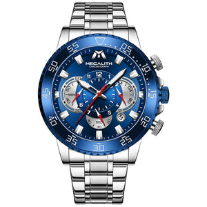 8226M | Quartz Men Watch | Stainless Steel Band-megalith watch