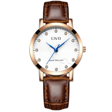 2047C | Quartz Men Watch | Leather Band
