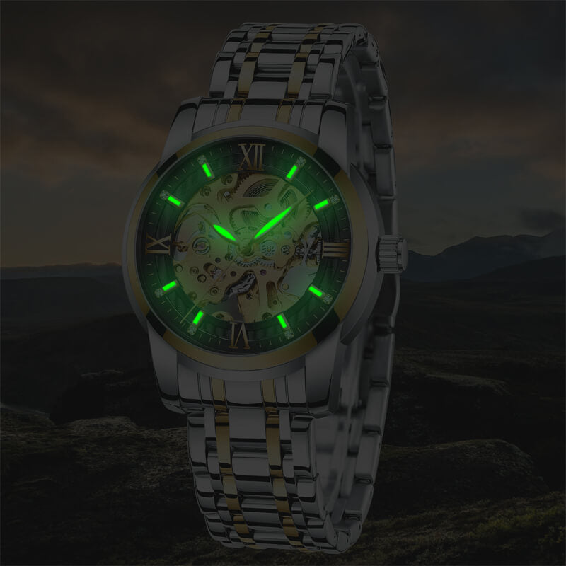 8205M | Mechanical Men Watch | Stainless Steel Band-megalith watch