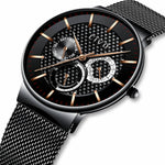 Load image into Gallery viewer, 0047C | Quartz Men Watch | Mesh Band-megalith watch