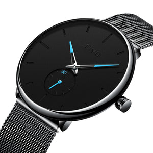 0124C | Quartz Men Watch | Mesh Band-megalith watch