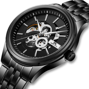 8079M | Mechanical Men Watch | Stainless Steel Band