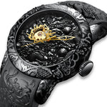 Load image into Gallery viewer, 8041M | Mechanical Men Watch | Rubber Band-megalith watch