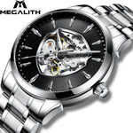 Load image into Gallery viewer, 8210M | Mechanical Men Watch | Stainless Steel Band-megalith watch
