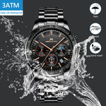 Load image into Gallery viewer, 8091M | Quartz Men Watch | Stainless Steel Band-megalith watch