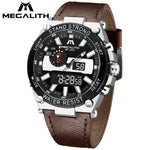 Load image into Gallery viewer, 8230M | Quartz Men Watch | Leather Band-megalith watch
