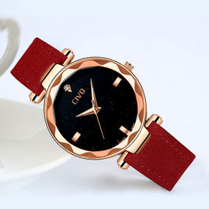 8520C | Quartz Women Watch | Leather Band