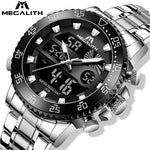 Load image into Gallery viewer, 8222M | Quartz Men Watch | Stainless Steel Band-megalith watch