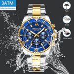 Load image into Gallery viewer, 8046M | Quartz Men Watch | Stainless Steel Band-megalith watch