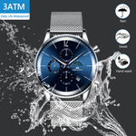 Load image into Gallery viewer, 8088M | Quartz Men Watch | Mesh Band-megalith watch