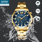 Load image into Gallery viewer, 8048M | Quartz Men Watch | Stainless Steel Band-megalith watch