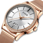 Load image into Gallery viewer, 0045C | Quartz Women Watch | Mesh Band-megalith watch