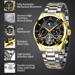 Load image into Gallery viewer, 8092M | Mechanical Men Watch | Stainless Steel Band-megalith watch