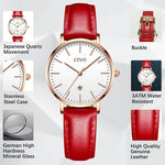 Load image into Gallery viewer, 8062C | Quartz Women Watch | Leather Band-megalith watch
