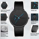 Load image into Gallery viewer, 8052C | Quartz Men Watch | Leather Band-megalith watch