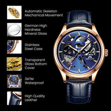 8078M | Mechanical Men Watch | Leather Band