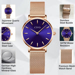 Load image into Gallery viewer, 8054C | Quartz Women Watch | Mesh Band-megalith watch