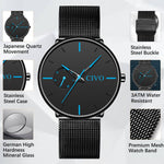 Load image into Gallery viewer, 8052C | Quartz Men Watch | Mesh Band-megalith watch