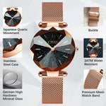 Load image into Gallery viewer, 8074C | Quartz Women Watch | Mesh Band-megalith watch
