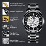 Load image into Gallery viewer, 8045M | Mechanical Men Watch | Stainless Steel Band-megalith watch
