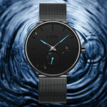 Load image into Gallery viewer, 0124C | Quartz Men Watch | Mesh Band-megalith watch