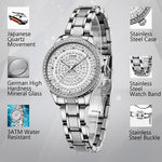 Load image into Gallery viewer, 8113C | Quartz Women Watch | Stainless steel Band-megalith watch