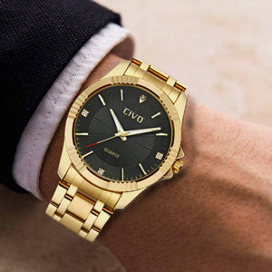 0102C | Quartz Men Watch | Stainless Steel Band-megalith watch