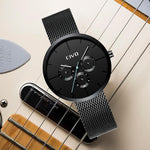 Load image into Gallery viewer, 8022C | Quartz Men Watch | Mesh Band-megalith watch