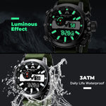Load image into Gallery viewer, 8229M | Quartz Men Watch | Nylon Band-megalith watch