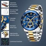 Load image into Gallery viewer, 8227M | Quartz Men Watch | Stainless Steel Band-megalith watch