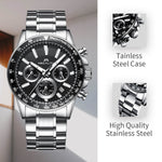 Load image into Gallery viewer, 0089M | Quartz Men Watch | Stainless Steel Band-megalith watch