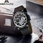 Load image into Gallery viewer, 8086M | Quartz Men Watch | Leather Band-megalith watch