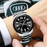 Load image into Gallery viewer, 8603M | Quartz Men Watch | Stainless Steel Band-megalith watch