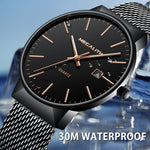 Load image into Gallery viewer, 0090M | Quartz Men Watch | Mesh Band-megalith watch