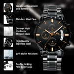 Load image into Gallery viewer, 0105M | Quartz Men Watch | Stainless Steel Band-megalith watch