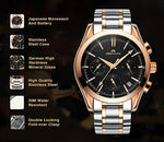 Load image into Gallery viewer, 0091M | Quartz Men Watch | Stainless Steel Band-megalith watch