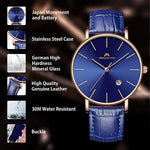 Load image into Gallery viewer, 8030M | Quartz Men Watch | Leather Band-megalith watch