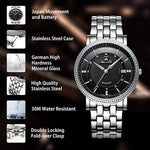 Load image into Gallery viewer, 2004M | Quartz Men Watch | Stainless Steel Band-megalith watch