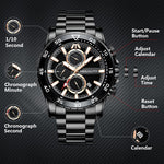 Load image into Gallery viewer, 8232M | Quartz Men Watch | Stainless Steel Band-megalith watch